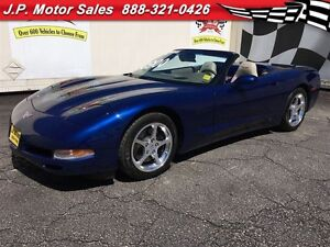 2004 Chevrolet Corvette Manual, Leather, Convertible, Only 79, 0