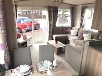 New static caravan with pitch fees included until 2019 , pet friendly park open 12 months