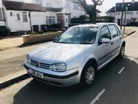 VW GOLF AUTOMATIC 2002/02 / LOW MILAGE Volkswagen Golf