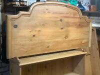 Pine Headboard for Kingsize Bed -FREE