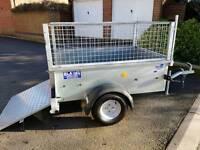 Ifor Williams P5e trailer Ideal skip runs camping