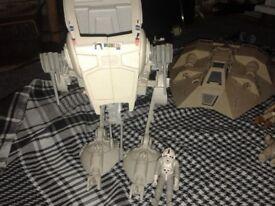 Assortment of original star wars toys
