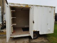 Used Secure Steel Mobile Site Container approx. 12 x 8 foot