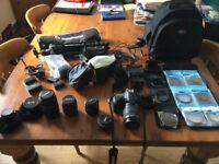 Canon 60D mega bundle...