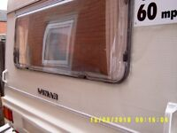 for sale or will exchange a 4 berth Luna sunbeam for a small 2 berth caravan must have shower