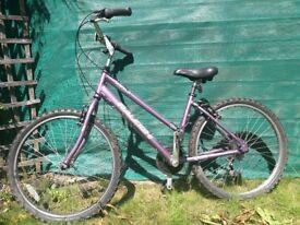 Ladies Hybrid Raleigh Voyager Bike for sale