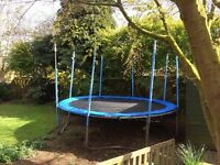 12ft Trampoline with Net Posts
