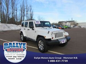 2013 Jeep WRANGLER UNLIMITED Sahara! 4x4! Alloy! Leather! Heated