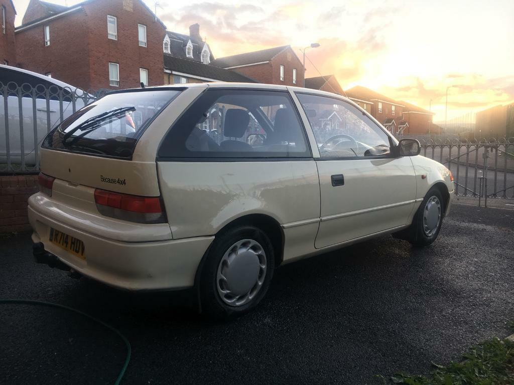 Subaru justy 1.3 glx 4x4 rare car to find swap for diesel or four door