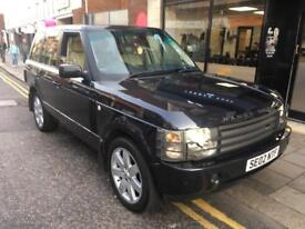 RANGE ROVER VOGUE 3.0TD XENONS TV SAT NAV HEATED LEATHER
