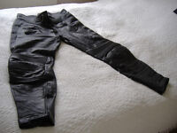 Belstaff mens leather Motor bike Trousers