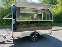 Catering Trailer/Pod Airstream style fully galvanised. DVSA Approved for use on UK roads