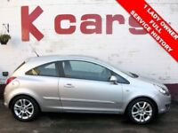 IDEAL FIRST CAR ONE OWNER FULL HISTORY VAUXHALL CORSA 1.2 SXI LOW MILES LONG MOT