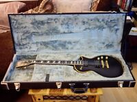 ESP Eclipse with EMGs and ESP Hard Case (Les Paul style and MIJ)