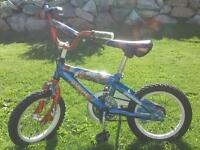 Kids Hot Wheels bike - barely used