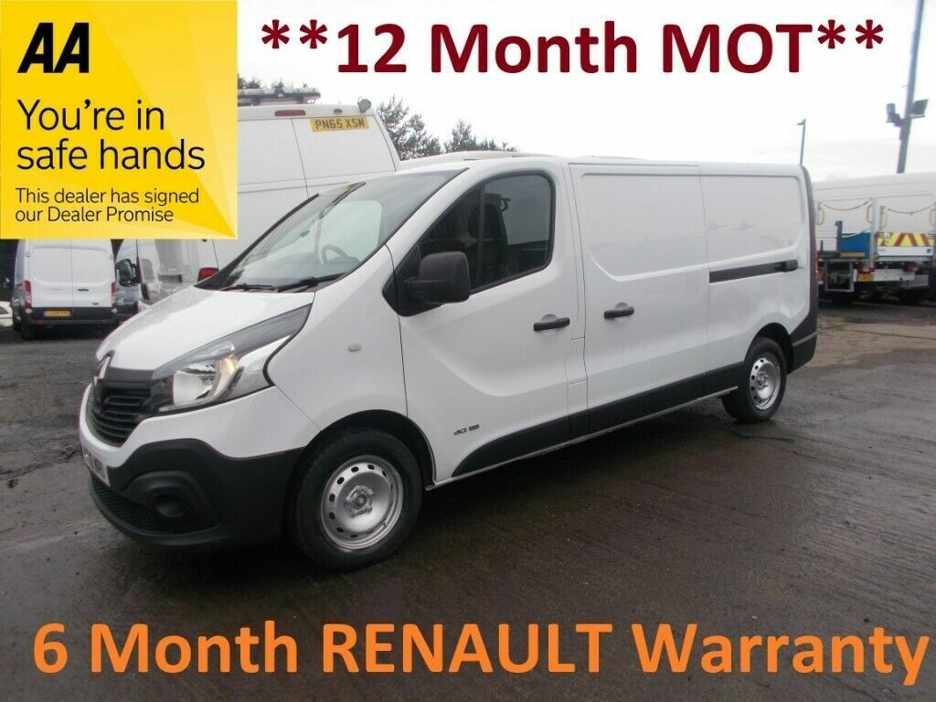 Renault Trafic 2 9t 1 6 Ll29 Dci 115 Business