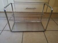 Amazing IKEA ORDNING Dish Drainer Stainless Steel Brand New Assembled