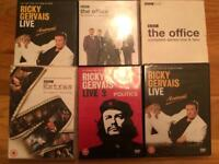 Ricky Gervais DVDs