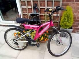 Girls/ladies mountain bike