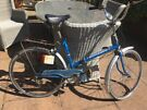 Schauff Town Bike. 1970s Folding.