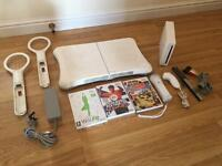 Wii Console With Wii Fit Board, 3 Games & Accessories £30 no offers