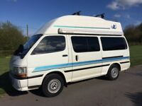 Toyota Hiace 5 berth family camper van, colourful and reliable