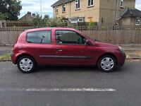 Renault Clio DCI 65 diesel £30 road tax a year