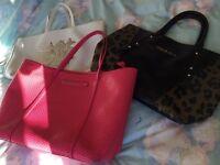 Three Versace Jeans Leather Handbags