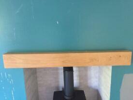 Oak Beam - Solid Oak Beam ideal for fire surround
