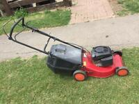 Petrol lawnmower in good condition runs fine selfdrive £65