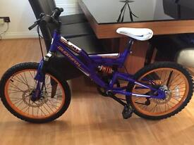 🚲 MUDDYFOX CYBORG DISC 20 (childs full suspension and disc brake bike) STUNNING CONDITION!!