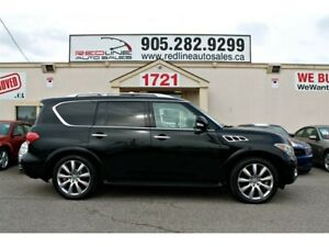 2011 Infiniti QX56 Leather, NAVI, DVD, Sunroof, WE APPROVE ALL C