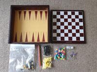 Multi Board Game Chess, Draughts, Backgammon Plus More