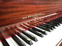 c1995-2000 John Broadwood & Sons Boudoir Grand Piano FREE DELIVERY 5Yr Warranty