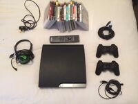 ps3 with 15 games plus more ( £85ono )