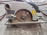 Parkside 8 inch circular saw as new £20