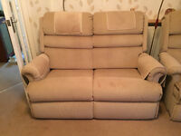 2 chairs and matching settee