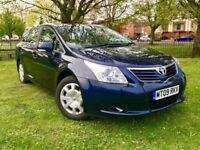 2009 TOYOTA AVENSIS 2.0 DIESEL ESTATE ** NEW MOT ( NO ADVISORY ) ** LADY OWNER