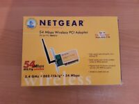 Netgear 54mbps Wireless PCi adapter