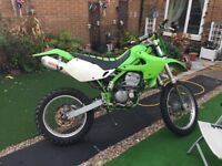 Not Kx rm cr yz swaps. Kawasaki KLX300R 51 reg 2001, clean bike., Green, 4 previous owners,