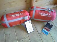 Travelpak lightweight summer sleeping bags