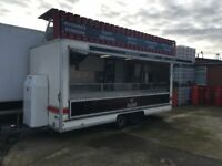 16' Catering Trailer - Good Condition - Multi-purpose Use