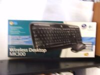 Computer wireless mouse and keyboard