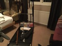 Ellen Cofts supreme Pilates machine, dvds ,manual and exercise sheets