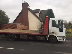 CAR AND VAN RECOVERY SERVICE.
