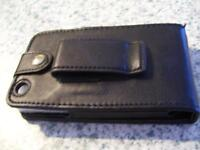 New iPhone leather case with belt clip