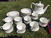 Full 10 piece vintage tea set