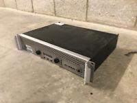 9 Crown Audio, Yamaha & QSC amplifiers, Tascam CD player, Audionics monitor