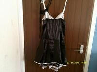 ann summers french maids outfit new size 12