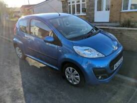 Peugeot 107 active 63 plate low milage
